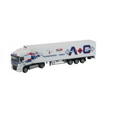 HERPA DAF truck met oplegger A+G Transporten VENLO OP=OP