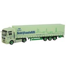HERPA MAN truck met oplegger BedrijfsautoRAI OP=OP