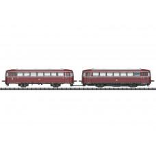 16981 Minitrix N Railbus VT 98 en bijwagen VS 98 DCC Sound MHI