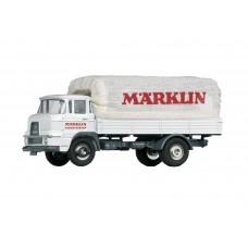 """18036 Marklin Krupp vrachtwagen met laadbak en met huifopbouw """"Märklin fabrieksverkeer"""" INSIDER 2020"""