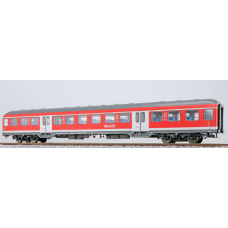 36514 ESU Pullman n-Wagen Bnrz 446, 22-34 311-7, 2. Kl. DB verkeersrood