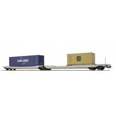 36545 ESU Pullman AAE NL Taschenwagen Bauart Sdggmrs CMA - MSC