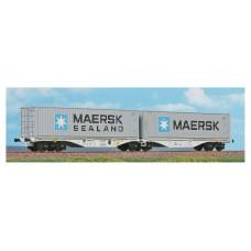 "40362 ACME Containerdraagwagen Type Sggrss 80 AAE Cargo ""Maersk"""