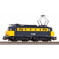 51369 Piko NS E-lok serie 1100 - 1136 Geel Grijs met botsneus AC Digitaal