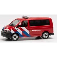 941907 Herpa VW T6 Brandweer nieuwe striping (NL) 1:87