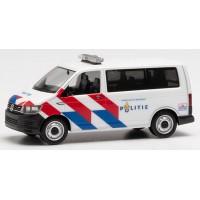 941921 Herpa VW T6 Politie nieuwe striping (NL) 1:87