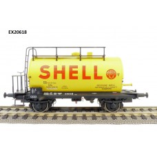 20618 Exact-Train DR-Zone 30m3 Leichtbau Uerdinger Bauart Ketelwagen Shell IIIa