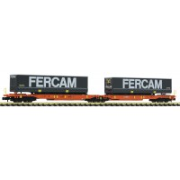 825010 Fleischmann N WASCOSA T2000 draagwagen FERCAM