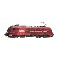 73267 Roco E-lok Taurus Railjet 1116 225-4 van de ÖBB DCC Sound + schakeling naar rijtuigen