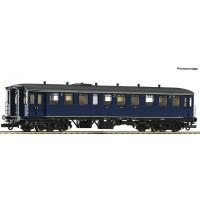 74419 Roco Rijtuig NS Blokkendoos 2e klas Blauw