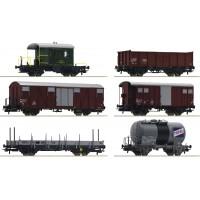 "76051 Roco 6-delige set SBB goederenwagons ""Gotthardbahn"""