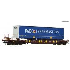 76235 Roco AAE T3 draagwagen P&O FERRYMASTERS