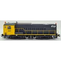 55902-2 Piko Diesellok NS 2200 - 2221 Geel/Grijs DCC Sound met digitale koppeling