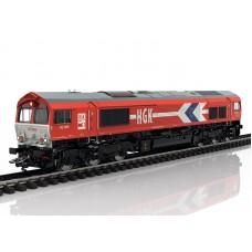 39060 Marklin Diesellocomotief Class 66 van Häfen und Güterverkehr Köln AG (HGK) MFX+, Rook & Sound