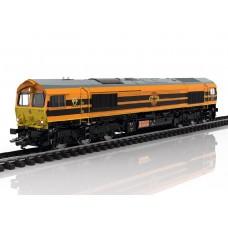 22692 Trix Diesellocomotief Class 66 van Rotterdam Rail Feeding RRF DCC MFX+, Rook & Sound