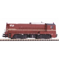 52696 Piko Diesellok NS 2200 - 2275 Bruin Ep. IV met rode zwaailichten