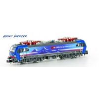 "2999 HobbyTrain N E-lok Vectron Hupac SBB-Cargo 193 492-6 ""Night-Piercer"""