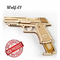 70031 UGears Elastiekjes pistooltje Wolf-01