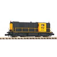40424 Piko N NS Diesellocomotief 2400 - 2418 Geel Grijs A-sein