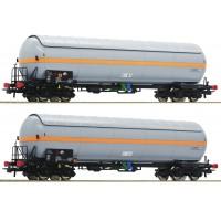 76073 Roco Set 2-delig Drukgasketelwagens NACCO NL