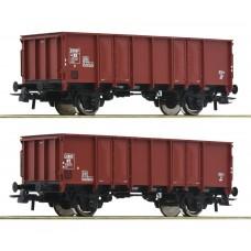 76136 Roco NS Open goederenwagons met belading