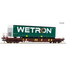 76232 Roco AAE T3 draagwagen WETRON