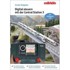 03083 Marklin Boek Digitale besturing met Central Station 3 Duits-talig