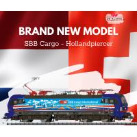 22735 Trix Vectron SBB Cargo International 193 525 Rotterdam MFX Sound