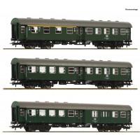 74184 Roco 4-delige set Umbauwagen DB
