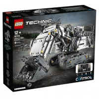 42100 Lego Technic Liebherr R 9800 Graafmachine