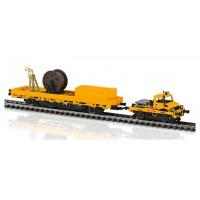 39940 Marklin Tweeweg-Unimog met bovenleidingbouwwagen MFX+ & Sound