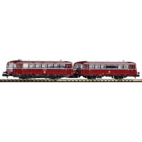 40250-2 Piko N BR 798 Diesel railbus + BR998.6 bijwagen DB IV