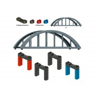 72218 Märklin my world 3+ set bouwstenen viaductspoorwegbrug