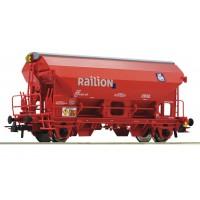 76579 Roco Zwenkdakwagen Railion DB AG