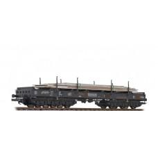 235791 Liliput NS staalwagen beladen met staalplaten Type Sahmms