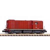 40427 Piko N NS Diesellocomotief 2400 - 2498 Bruin L-sein Digitaal Sound