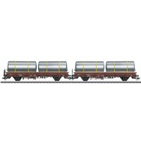 46925 Märklin Set met 2 rongenwagens Kbs Brouwerijtanks