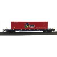 47051.007 Marklin Containerdraagwagen GVT Gebr. Versteijnen Transport