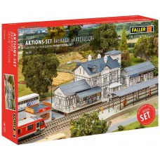 190060 Faller Actieset Station Radebusch