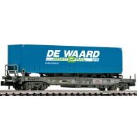 845369 Fleischmann N NS Hupac met  De Waard oplegger