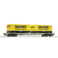 76921 Roco Containerwagen AAE Dachser Logistics
