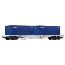 76947 Roco Containerwagen AAE EKOL
