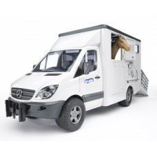 02533 Bruder Mercedes-Benz Paardentransport
