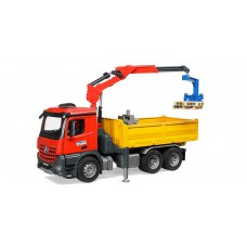03651 Bruder Mercedes-Benz vrachtwagen met kraan