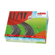 23300 Marklin my world - Aanvullingsverpakking kunststofrails