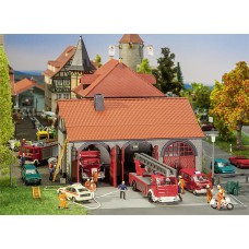 130162 Faller Brandweergarage