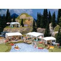 130503 Faller Camping Caravan set