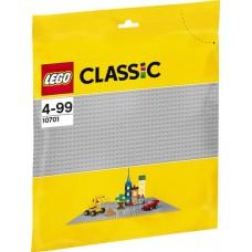 10701 Lego Classic grijze bouwplaat