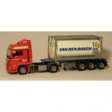 1826 Herpa Exclusief MAN TGS E6 20ft. Con. Van den Bosch (NL) 1:87
