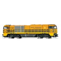 37207 Marklin Diesellocomotief 1101 RRF Rotterdam Rail Feeding MFX+ + Sound
